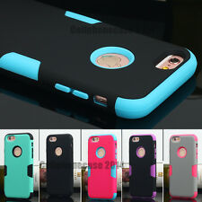 Protective Hybrid Shockproof Hard Case Cover F Apple iPhone 6 6S Plus