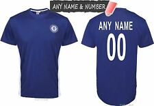 PERSONALISED OFFICIAL CHELSEA FC FOOTBALL T-SHIRT