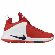 Nike Zoom Witness White/RedLebron James Basketball Mens Shoes All NEW