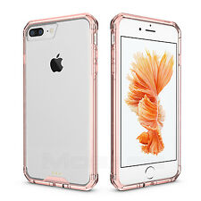Hybrid Slim Shockproof Clear Hard TPU Skin Case Cover for Apple iPhone