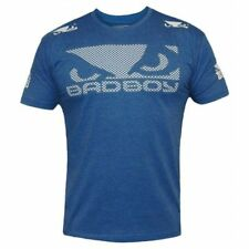 BAD BOY walk in 3.0 Camiseta BadBoy Azul MMA BJJ No Gi Fight T Camisa