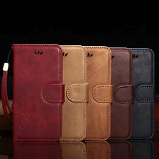 Magnetic Flip Cover Card Wallet Leather Stand Case For Apple iPhone 6S