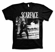 UNISEX Official Licensed SCARFACE  Movie TONY MONTANA Black  T-Shirt