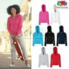Fruit of the Loom FOTL - Women's Premium 70/30 Hooded Sweatshirt Jacket Hoodie