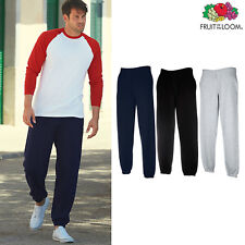 Fruit of the Loom FOTL-Men's Premium 70/30 Elasticated Sweatpants Jogging Bottom