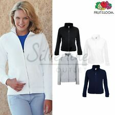Fruit of the Loom FOTL - Women's Premium 70/30 Lady-fit Zipped Sweatshirt Jacket