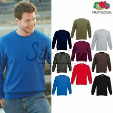 Fruit of the Loom FOTL - Men's Premium 70/30 Set-in Sweatshirt Jumper Top