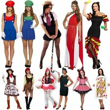 NEW WOMENS COSTUME LADIES FANCY PARTY DRESS NOVELTY ADULT HALLOWEEN GIRLS OUTFIT