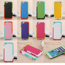 For Apple iPhone 6 6S Hybrid ShockProof Protective Hard / Soft Case Ph