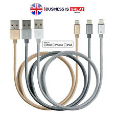 Fast Long Braided Lightning USB Cable Charger for iPhone iPad 5ft 1.5m, KINGGS
