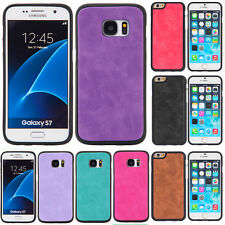 Luxury thin PU Leather Skin Hard Back Case Cover for Apple iPhone 7 6/