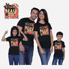 Beach Party - Family T-shirts - Set Of 4