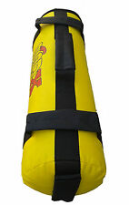 MADX Power Cloth/Sand FILLED Bag Crossfit Yellow MMA Training Fitness 0-25kg,MMA