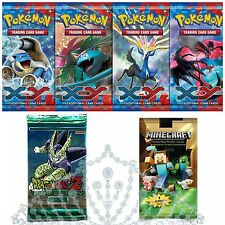 Trading Card Game Booster Pack Games Sealed Pokemon Dragonball Z Minecraft +