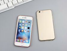 Luxury Ultra Thin Slim Shockproof Rubber Soft TPU Case Cover For iPhon