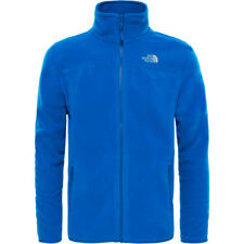 North Face 100 Glacier Full Zip Mens Jacket Fleece - Monster Blue All Sizes