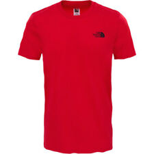 North Face Simple Dome Mens T-shirt - Tnf Red All Sizes
