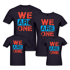 We Are One - Family T-shirts - Set Of 4