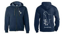 Labradoodle Full Zipped Dog Breed Hoodie,Exclusive Dogeria Design