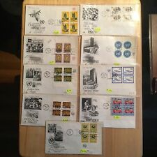 United Nations in NY, First Day Covers, From1963-1966, Amount 9,
