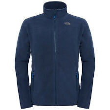 North Face 100 Glacier Full Zip Mens Jacket Fleece - Urban Navy All Sizes