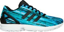 Men's adidas Originals ZX Flux Digi Casual Footwear White/Ray Red S76505 DI