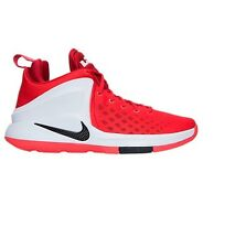 AUTHENTIC Nike LeBron Zoom Witness Red Black White 852439 600 James Heat Me