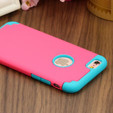 Shockproof Rugged Hybrid Rubber Hard Cover Case For Apple iPhone 6s Pl