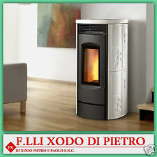 pellet stove MONTEGRAPPA model LS EVO body ALPINA - all colours and powers