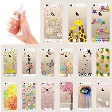 Ultra Slim Rubber Soft TPU Silicone Back Case Cover for Apple iPhone 5