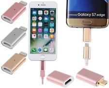 Micro USB / 5 Pin to Magnetic Charger Adapter Converter For Samsung Android Sony