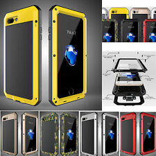 Aluminum Gorilla Glass Shockproof Metal Case Cover for iPhone 5S 6 6S