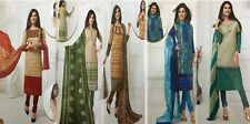 Designer Churidar Salwar Kameez Suit Cotton Dress Material Churidar Material GS1