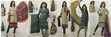 Designer Churidar Salwar Kameez Suit Cotton Dress Material Churidar Material GS2