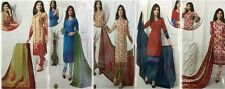 Designer Churidar Salwar Kameez Suit Cotton Dress Material Churidar Material GS4