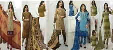 Designer Churidar Salwar Kameez Suit Cotton Dress Material Churidar Material GS5