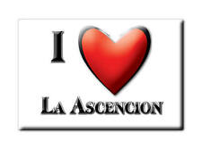 MEXICO SOUVENIR FRIDGE MAGNET RECUERDO IMAN DE NEVERA I LOVE LA ASCENCION