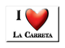 MEXICO SOUVENIR FRIDGE MAGNET RECUERDO IMAN DE NEVERA I LOVE LA CARRETA