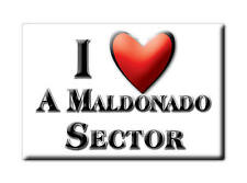MEXICO SOUVENIR FRIDGE MAGNET IMAN DE NEVERA I LOVE A MALDONADO SECTOR
