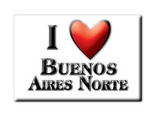 MEXICO SOUVENIR FRIDGE MAGNET IMAN DE NEVERA I LOVE BUENOS AIRES NORTE