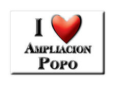 MEXICO SOUVENIR FRIDGE MAGNET RECUERDO IMAN DE NEVERA I LOVE AMPLIACION POPO