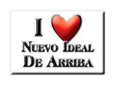 MEXICO SOUVENIR FRIDGE MAGNET IMAN DE NEVERA I LOVE NUEVO IDEAL DE ARRIBA