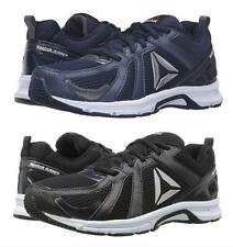 REEBOK Men's Lightweight Running Sneakers in Navy and Black