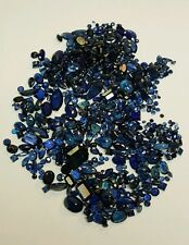 Fine Natural Sapphire Beautiful Blue -  loose Mixed Faceted Gemstone Lot