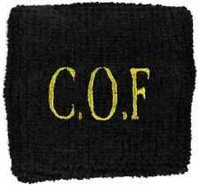 * CRADLE OF FILTH - COF LOGO - OFFICIAL EMBROIDERED SWEATBAND wristband