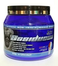 * SWOLE LABS - ASSIDUOUS * EXTREME pre-workout powder - FREE SHIPPING!!!! DUST