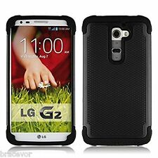 Bracevor Triple Layer Defender Back case for LG G2 - Black