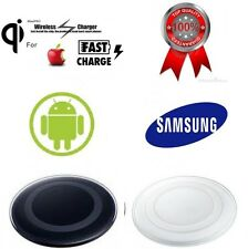 Qi Wireless Charger Pad + Charging Receiver for Samsung S4 S5 + Android  + Apple