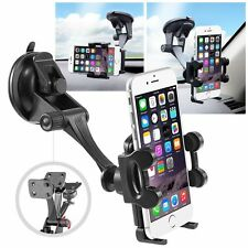 Universal Rotating Car Windshield Mount Holder Stand Bracket for Cell Phone New