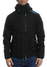 Superdry Übergangsjacke Men TECH HOOD POP ZIP WINDCHEATER Black Denby Blue